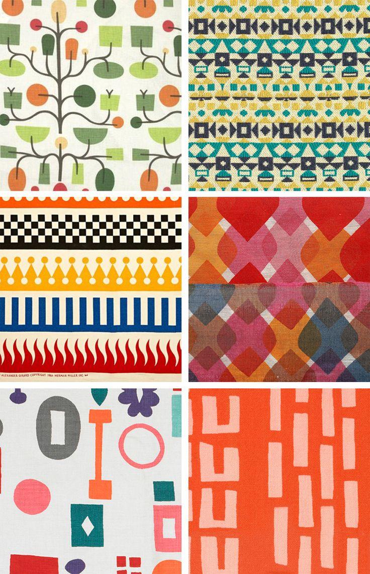 Alexander Girard - Fabrics