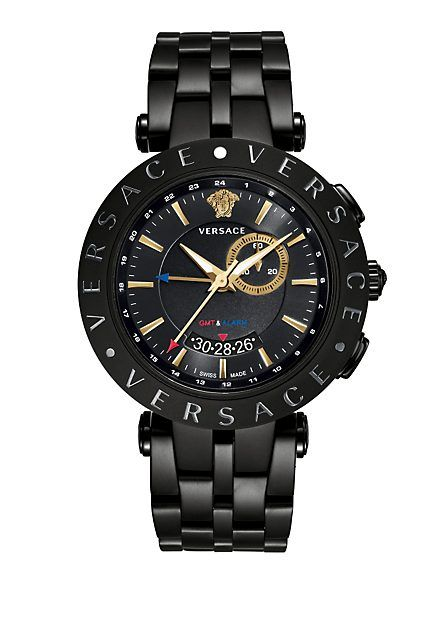 V-Race Gmt Alarm 46mm Bracelet
