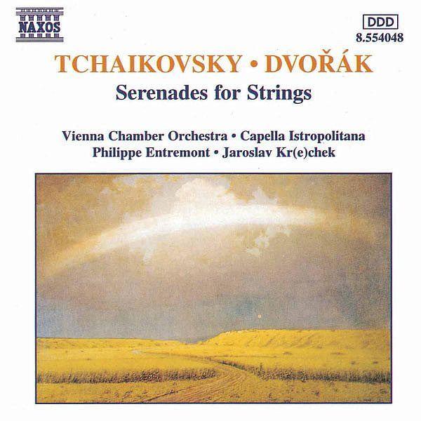 TCHAIKOVSKY / DVORAK: Serenades for Strings-Vienna Chamber Orchestra-Naxos