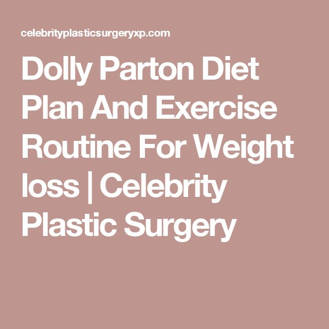 Dolly Parton Diet Plan And Exercise Routine For Weight loss | Celebrity Plastic Surgery
