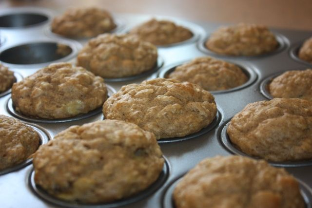 toddler snack ideas - mini muffins