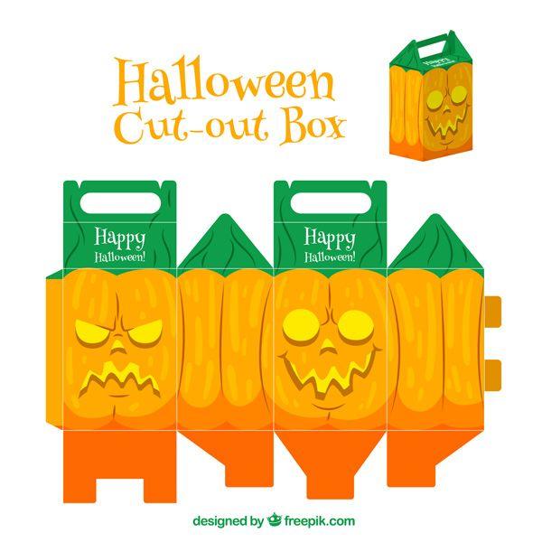 Scatolina di Halloween da stampare e costruire n.5