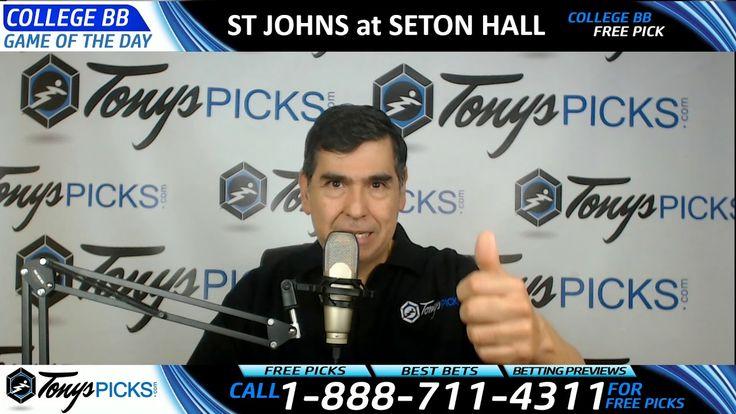 St Johns Red Storm vs. Seton Hall Pirates Free NCAA Basketball Picks and...