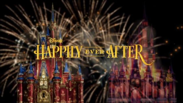 """Song: Happily Ever After (Full Version) Artist: Jordan Fisher & Angie Keilhauer Album: Happily Ever After (Full Version) - Single Album Artist: Jordan Fisher & Angie Keilhauer Composer: Adam Watts, Melissa Peirce & Andrew Dodd Genre: Soundtrack Copyright: ℗ 2017 Walt Disney Records Happily Ever After,"""" a new nighttime spectacular that will combine the magic of Disney storytelling, beloved Disney characters, fireworks and so much more, will debut at Magic Kingdom Park on May 12. The s"""