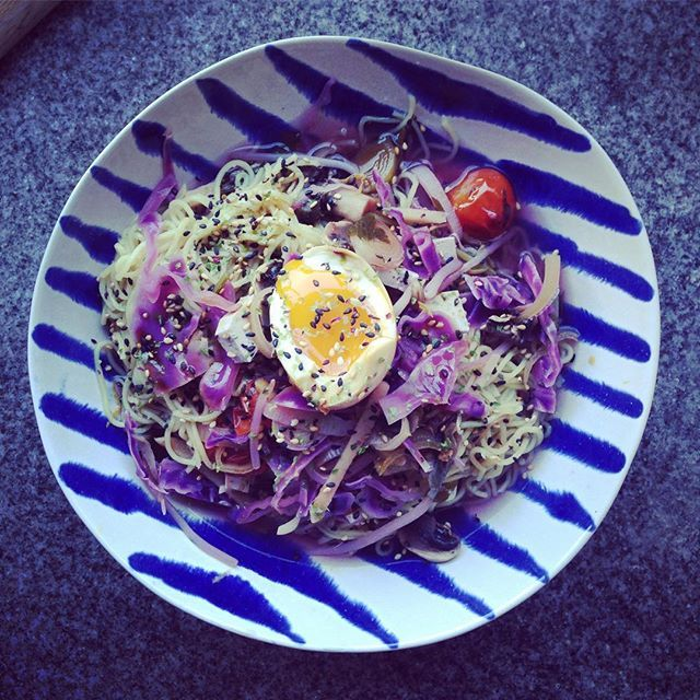 Standard, Sunday night, hungover ramen. Complete with marinaded egg. #egg #alternativesundayroast #ramen #asianfood #homemadeisbest