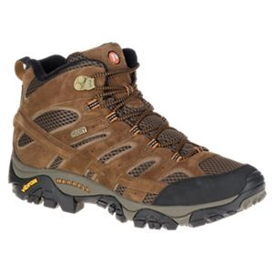Merrell Moab 2 Mid Waterproof Hiking Boots for Men - Earth - 11.5M