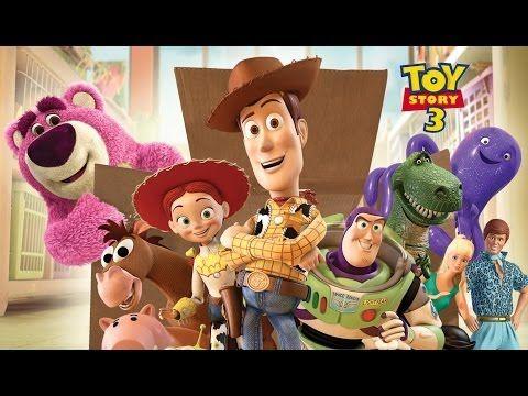 Disney Toy Story 3 - Pixar Full Movie Game - Full English