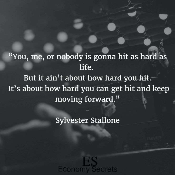 Sylvester Stallone Quotes 10
