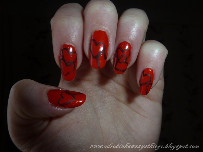 73 best my nailart images on pinterest nailart golden roses hearts lovely moulin rouge nr 7 essence nail art stampy polish nr prinsesfo Choice Image