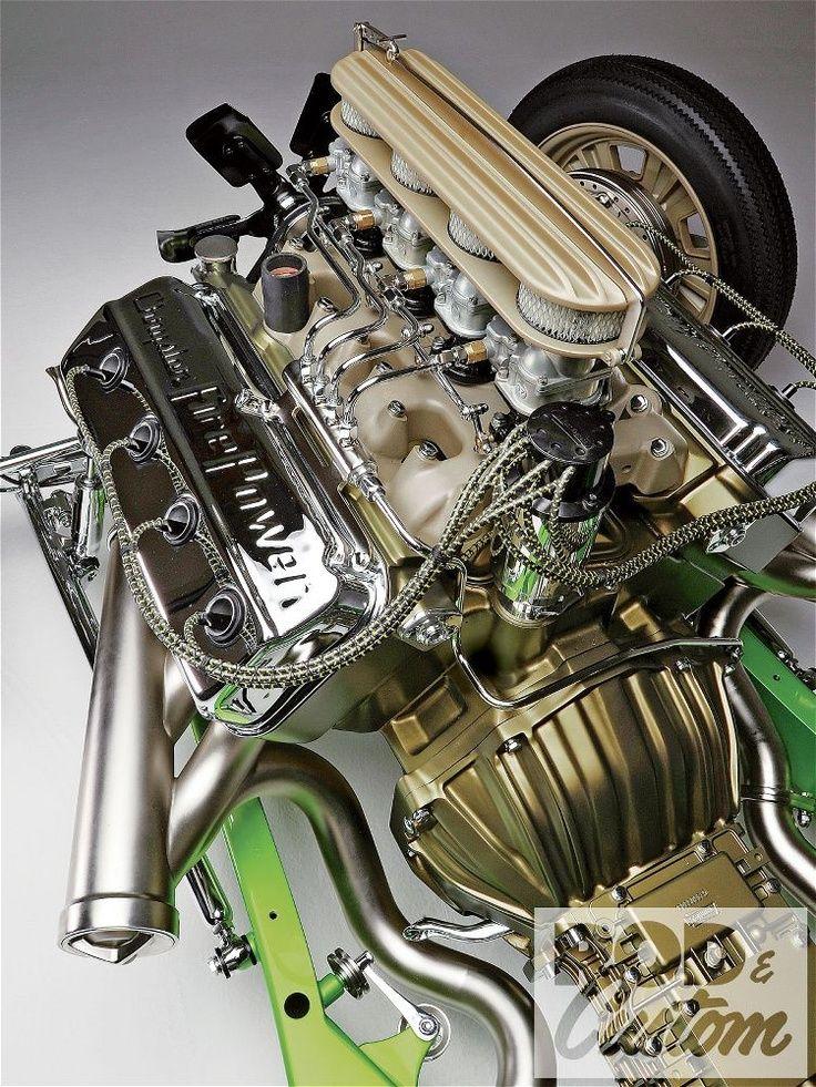 (Hot Rod w/ HEMI Engine)