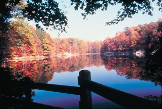 Brown County Indiana Vistas In The State Park Are Amazing Fall Is The Ideal Time To Visit