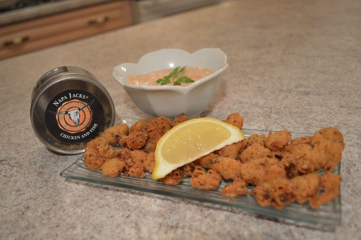 How to Cook Napa Jack's Deep Fried Cajun Clams + Cocktail Remoulade: Coo...