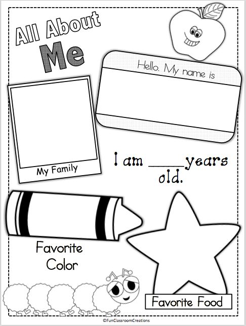Erin, does this look familiar to you? I feel like we filled out this exact one when we were little!