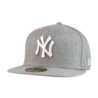 casquette NY gris