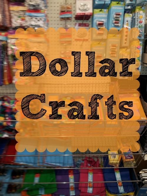 Dollar Crafts - Easy and inexpensive summer fun for the kiddos! View on BargainBriana.com