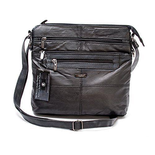 LADY'S REAL LEATHER SHOULDER BAG IN BLACK SOFT SMOOTH DESIGNER CROSS BODY HANDBAG WITH LEATHER BELT, http://www.amazon.co.uk/dp/B00G9GK64E/ref=cm_sw_r_pi_awdl_bLZLvb03YFMT4