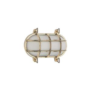Picture of Marina 20CM Caged Oval Bunker (BM85 43361) Domus Lighting