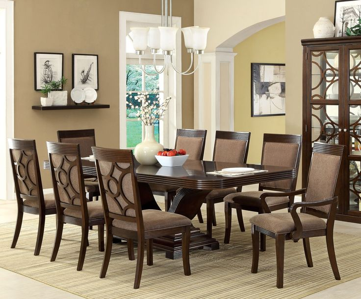 Delmont 7 Piece Dining Room Furniture Set
