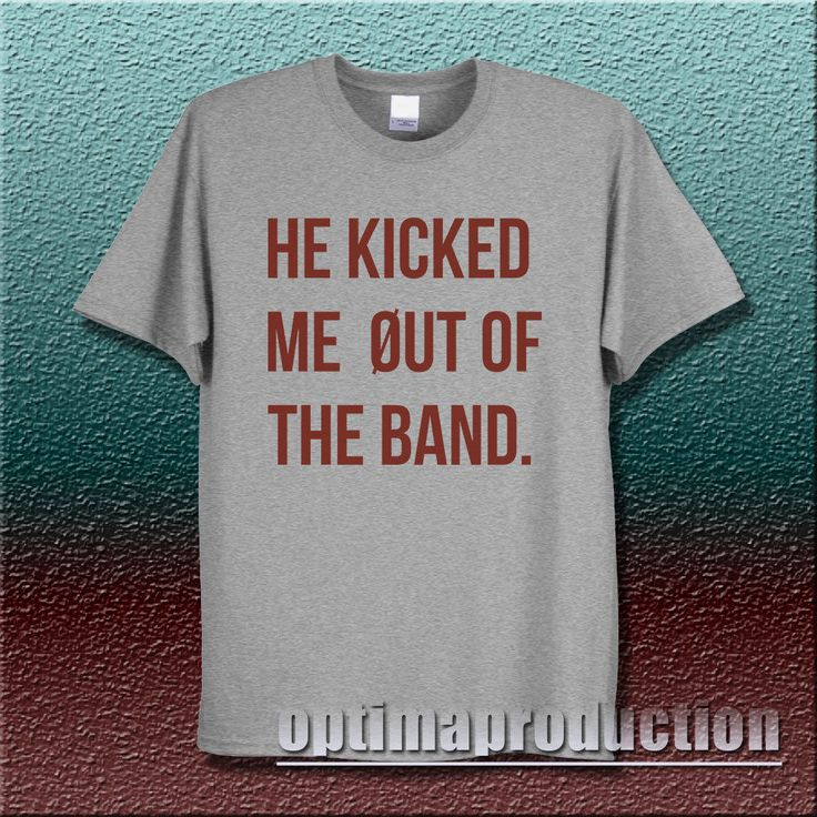 twenty one pilots he kicked me out of the band tyler joseph josh dunn 21 pilot #Unbranded #BasicTee