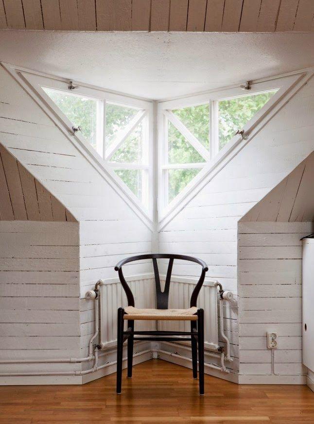 1000+ images about Triangular window on Pinterest | Loft ...