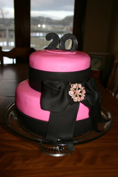 Birthday Cake Images For My Daughter : A 20th Birthday Cake for my daughter. CAKES Pinterest