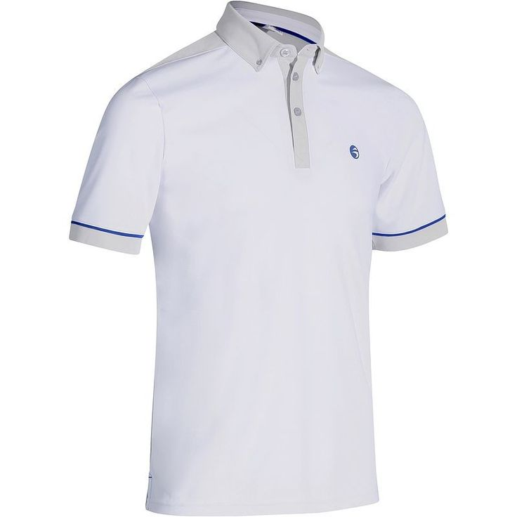 14,99€ - Golf_habillement - POLO 900 HOMME BLANC - INESIS