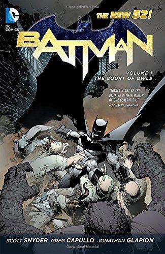 Batman Volume 1: The Court of Owls TP (The New 52) (Batman (DC Comics Paperback)): Amazon.co.uk: Greg Capullo, Scott Snyder: 8601200478310: Books