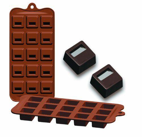 Ibili Chocolate - Moldes silicona bombones, diseño bloq Ibili http://www.amazon.es/dp/B0056Y51XQ/ref=cm_sw_r_pi_dp_GmQ1ub1S06T0V