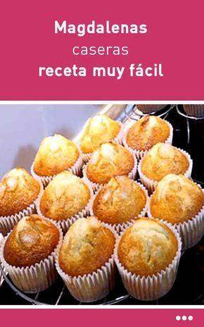 #magdalenas #receta #fácil