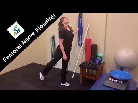 femoral nerve flossing exercises  femoral nerve glide