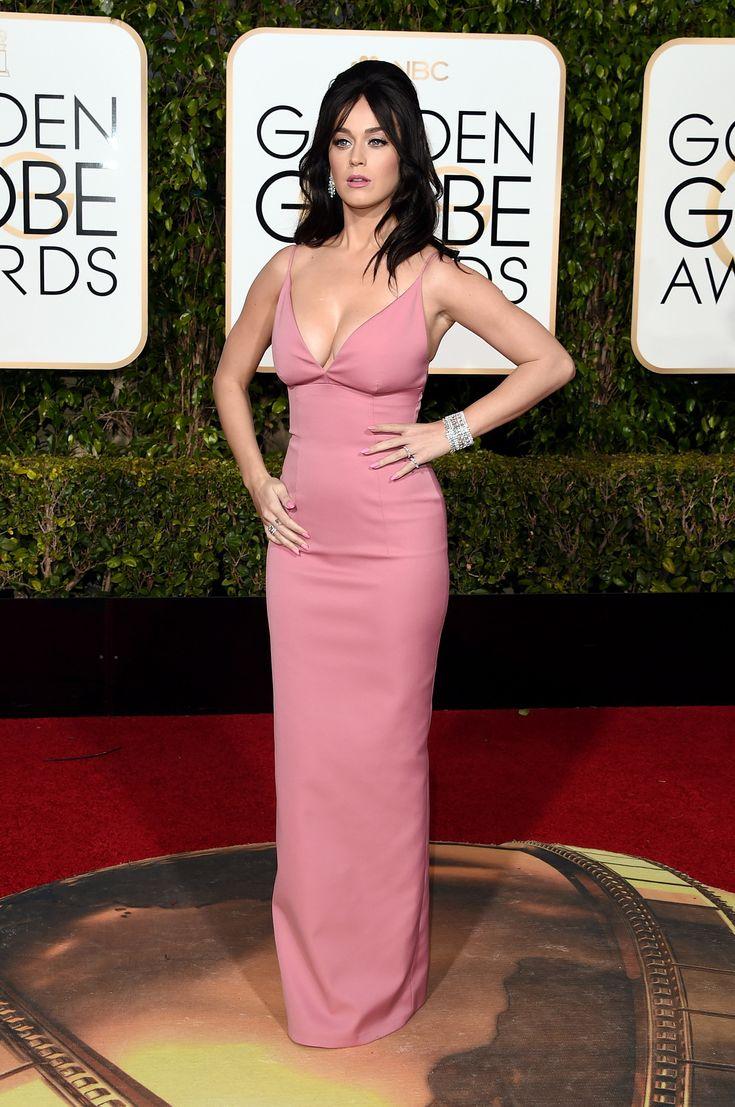 Katy Perry in Prada bei den Golden Globe Awards