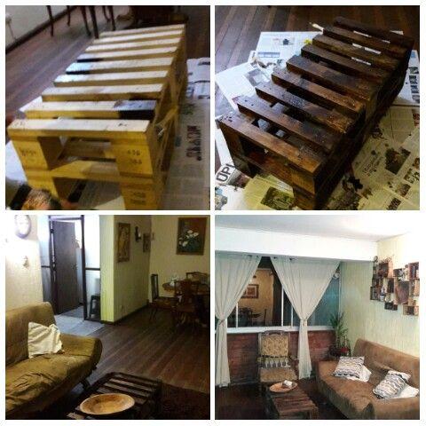 Wood proyect 6 Madera reciclada Mesa de palets