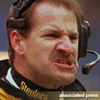 End Of An Era: Bill Cowher Resigns From Steelers - Behind the Steel Curtain (one of the days I saw Steven cry)