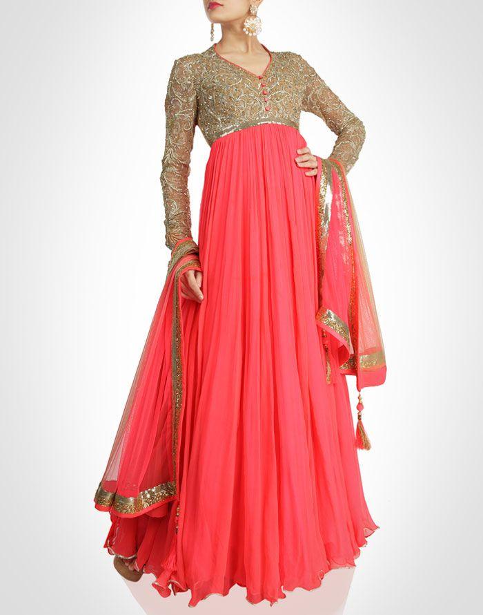 Pam Mehta collection | Anarkali