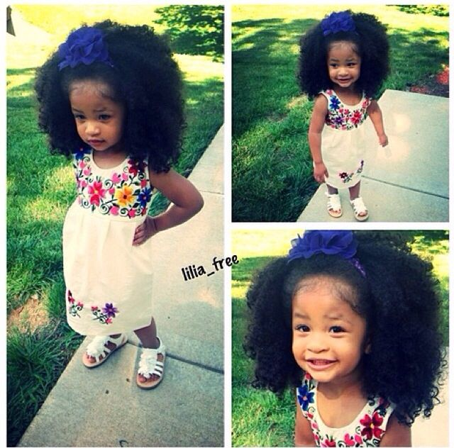 NATURAL KIDS Go to www.naturalhairki... to see more tips, posts and pics like this! | natural hair | protective styles | detangling | natural hair kids | hair care tips | natural hair information | locs | natural hair inspiration | ponytails | braids | beads | caring for natural hair | natural hair tip | natural hairstyles for kids | children's hair | moisturizing hair