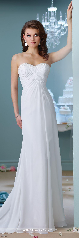 151 best Enchanting by Mon Cheri Wedding Dresses images on Pinterest ...