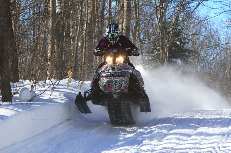 Explore Bonfield's epic snowmobile trails within easy reach of Southern Ontario.