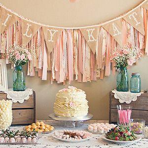 Inspiración Shabby Chic para una fiesta infantil - Fiestas y Cumples - Charhadas.com