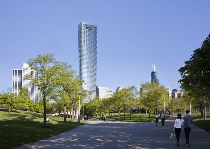 Another look at the South Loop's upcoming 1000M tower - Curbed Chicagoclockmenumore-arrow : New renderings help to illustrate the evolution of Helmut Jahn's design
