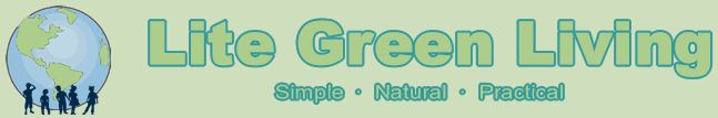Lite Green Living,  a natural family living resource full of practical, economical & healthy tips for the eco conscious family