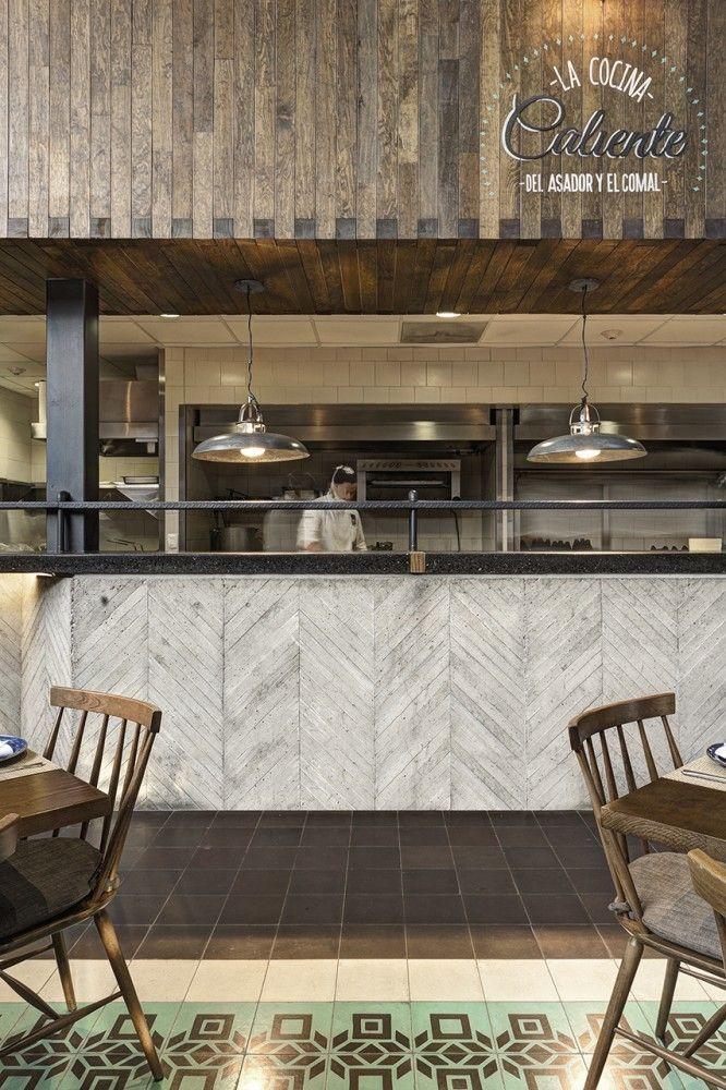 La Tequila South Restaurant / LOA | textures materials | Pinterest