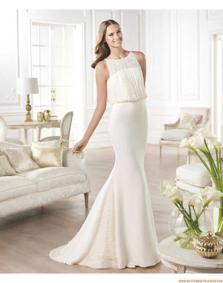 62 besten Brautkleider Maßgeschneiderte 2016 Bilder auf Pinterest ...