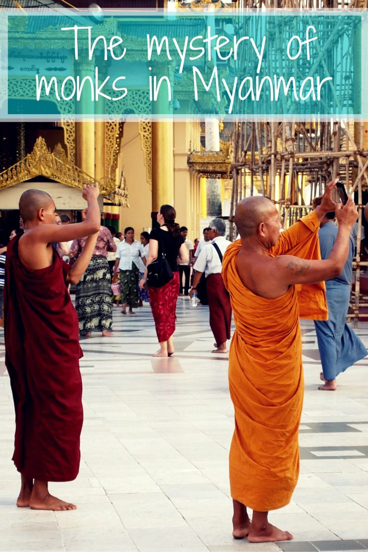 Monks can be found all over the world. Myanmar however, seems to have more than any other country. These monks are often seen as quiet, holy, mysterious men. The question is, are they really this mysterious?