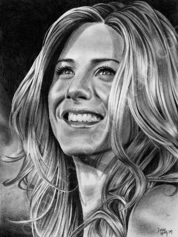 Jennifer Aniston... finally by daniel-w.deviantart.com on @DeviantArt