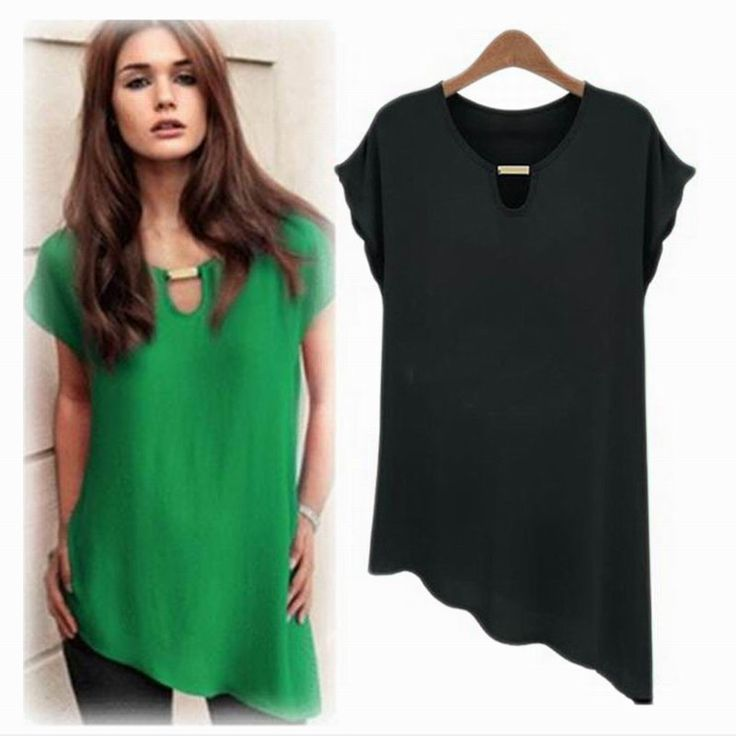Letní dámské triko se šikmým okrajem – zelené L Na tento produkt se vztahuje nejen zajímavá sleva, ale také poštovné zdarma! Využij této výhodné nabídky a ušetři na poštovném, stejně jako to udělalo již velké …