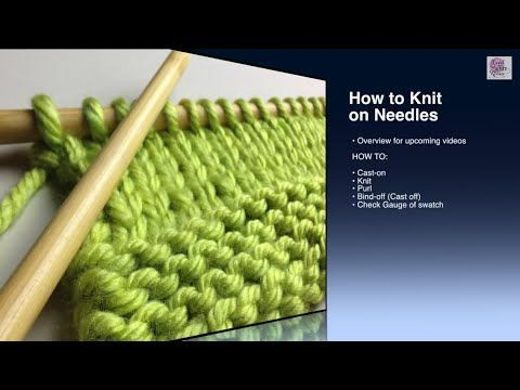 Teaching Kids to Knit | Imagination Soup