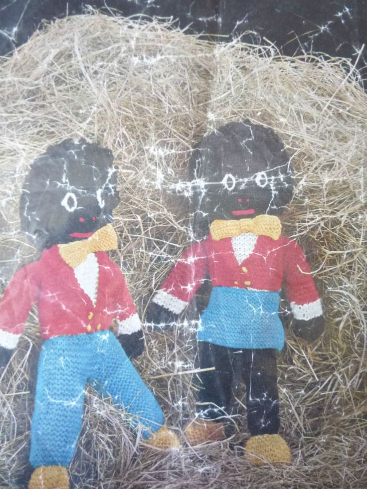 Knitted Golliwog Pattern : 16 best images about Golliwog Patterns on Pinterest Amigurumi, Vintage and ...