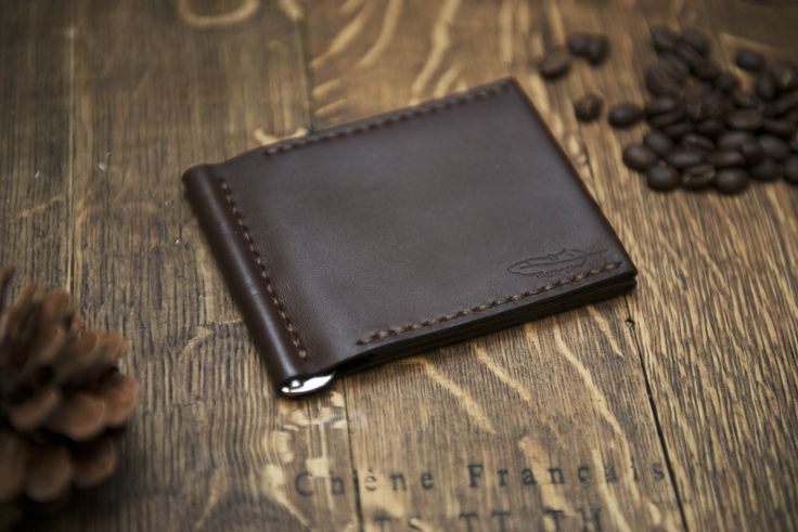 Leather Wallet, Money Clip Wallet. Handmade Money Clip Wallet. Leather Clip Wallet. Money Clip Wallet. Leather Wallet mens money clip  leather money clip  mens wallets  minimal wallet  wallets for men  mens leather wallet  money clip leather horween wallet  horween leather