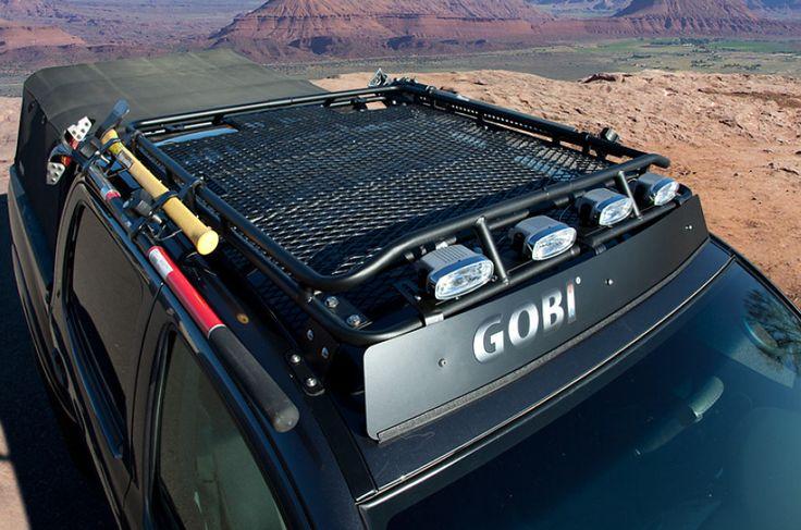 Gobi Toyota Tacoma Stealth Roof Rack - GTTSTL - Toyota Tacoma Gobi Roof Racks