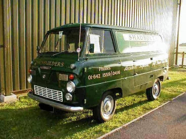 1960 Ford Thames 400E van